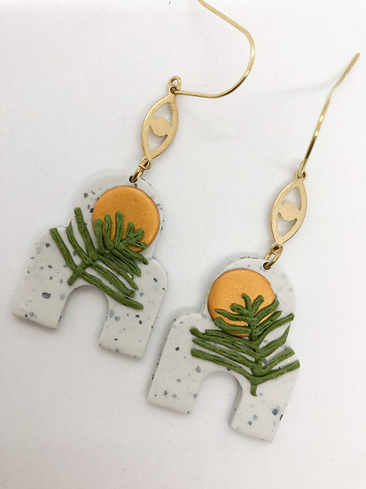 Trade winds earrings