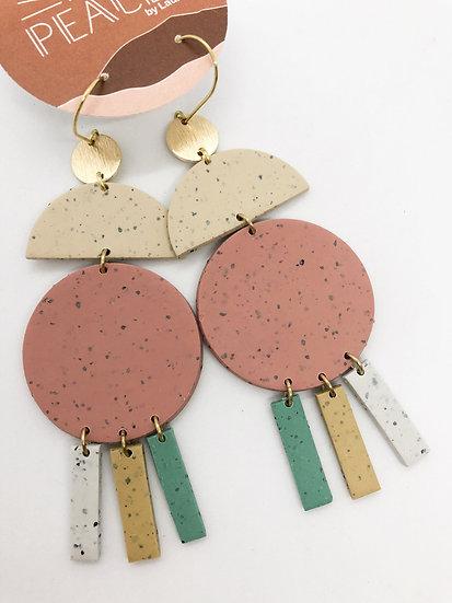 Oatgrass earrings