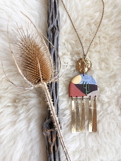 Perfect endings necklace