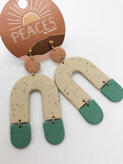 Needlegrass earrings