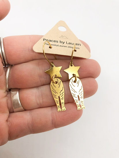 Sale tiger earrings