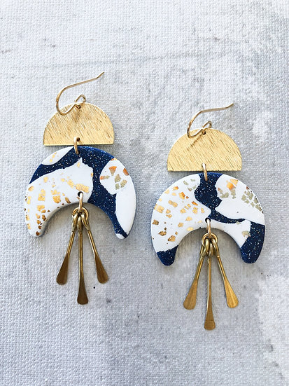 Moonlight by the sea earrings