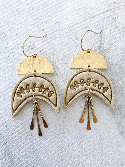 Growing earrings