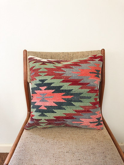 16 x 16 kilim pillowcase