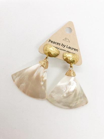 Sale mother of pearl earrings