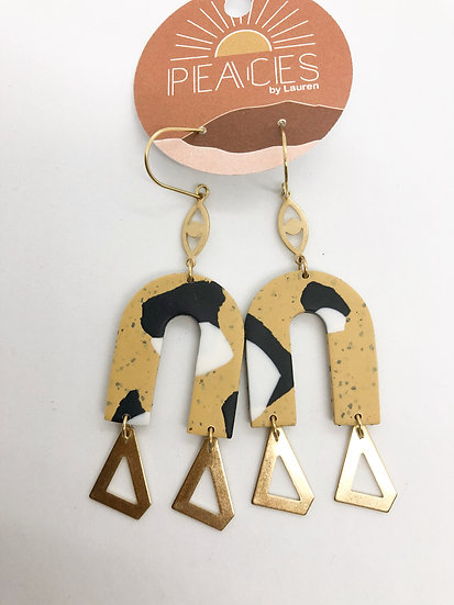 Obsidian Road earrings
