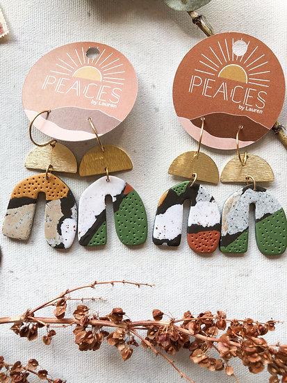Grounded earrings