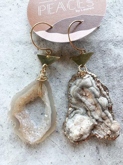 Milky way earrings