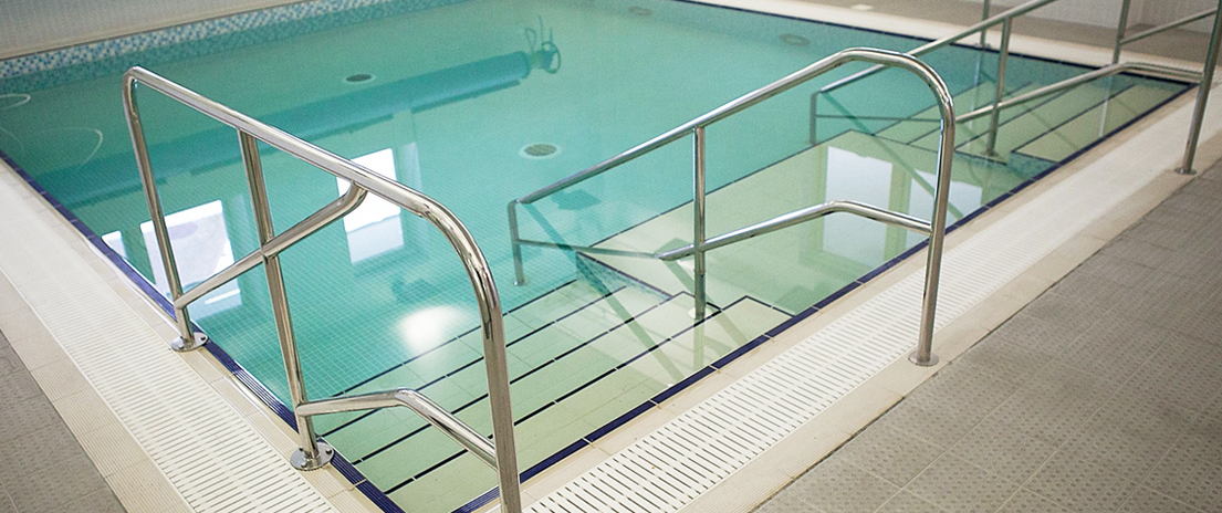 Hydrotherapy pool.