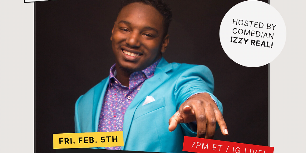 Black History Game Night! Ft. Comedian Izzy Real