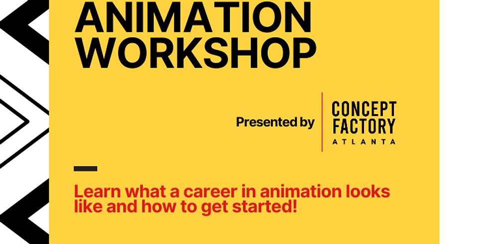 Animation Workshop with Animator Allyssa Lewis