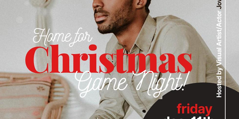 Home for Christmas Game Night! Ft. Actor Jowaan Sullivan