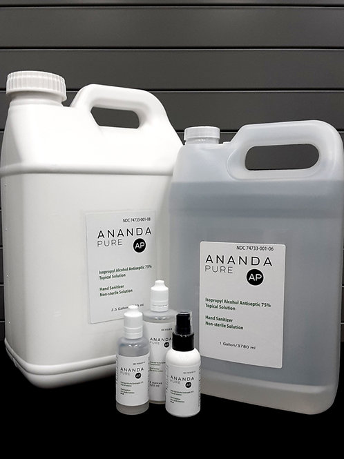 Anandapure WHO Hand Sanitizer