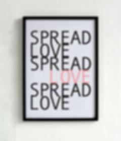 Love Poster Black