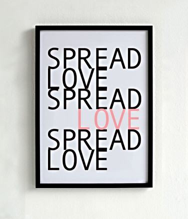 Amore Poster nero