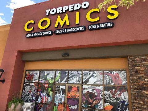 Torpedo Comics Las Vegas