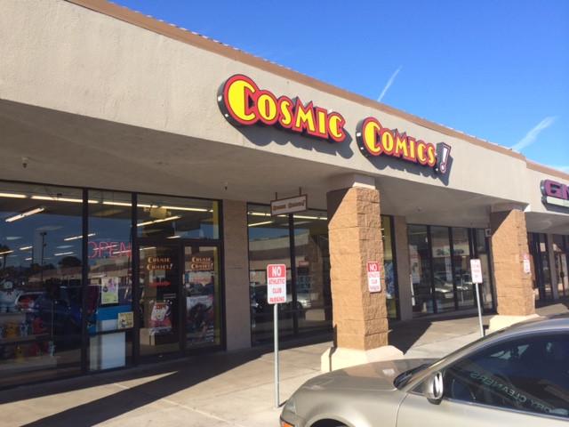 Cosmic Comics Las Vegas