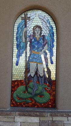 Mosaic St Michael the Archangel.JPG