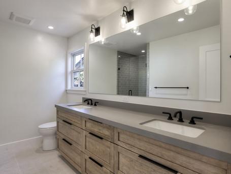 master bath, double vanity