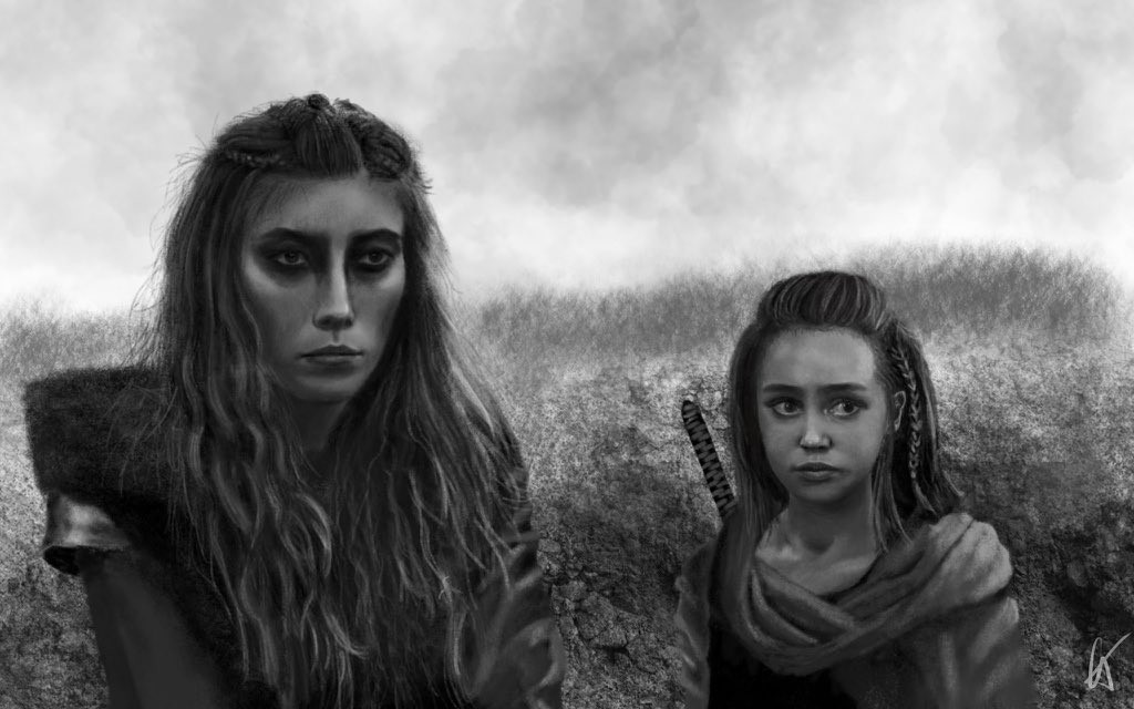 Anya and little Lexa