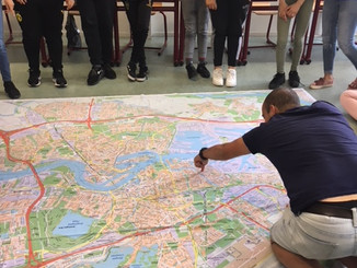 Discovering the map - Rotterdam