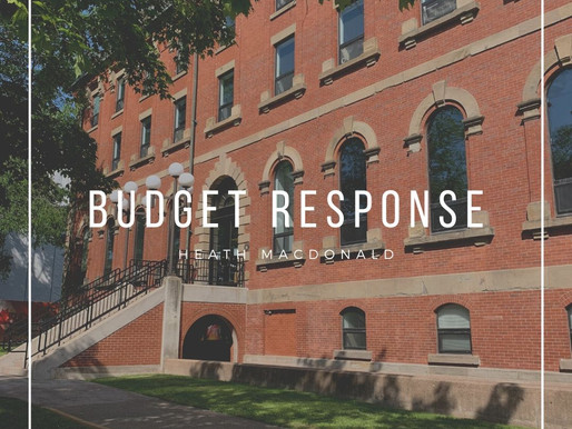 Response to the Budget 2020
