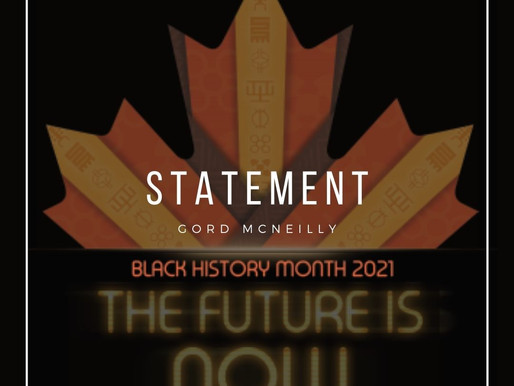 Statement - Black History Month 2021