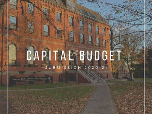 Capital Budget Submission 2020-21