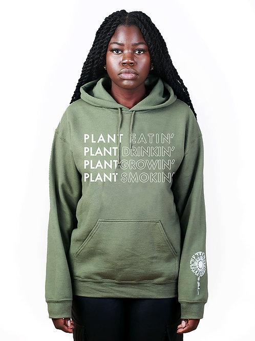 Plant God Hoodie - Sage Green