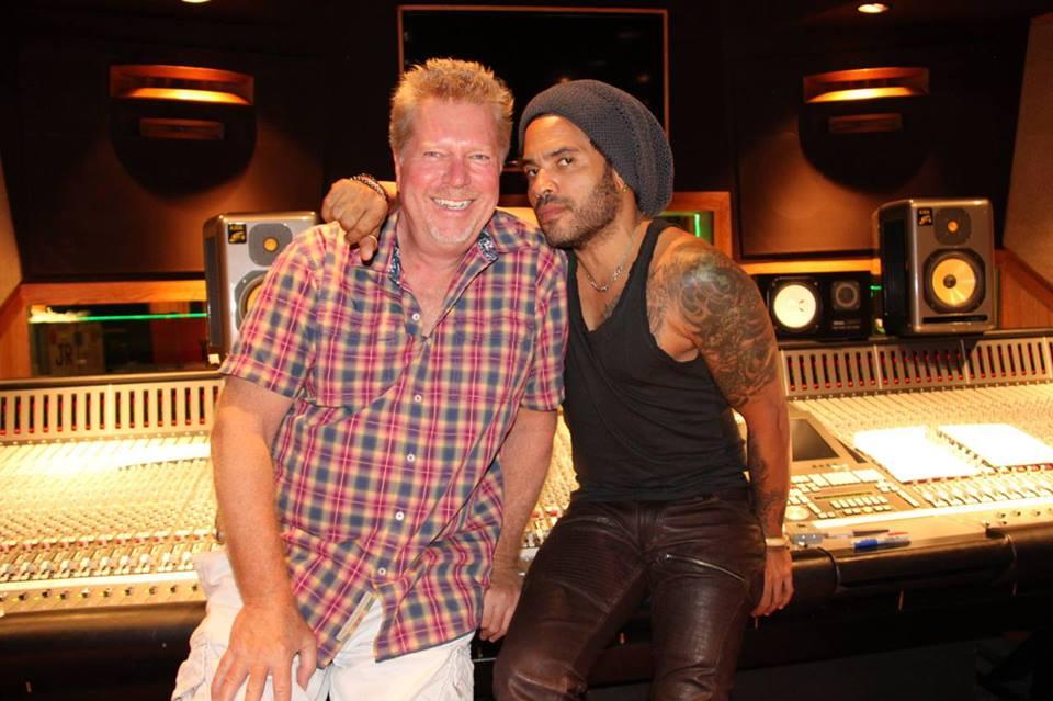 JR & Lenny Kravitz