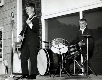 JR & Kevin Clemens - 1965