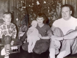 JR, Judy, Dr. Jack Robinson (Father)