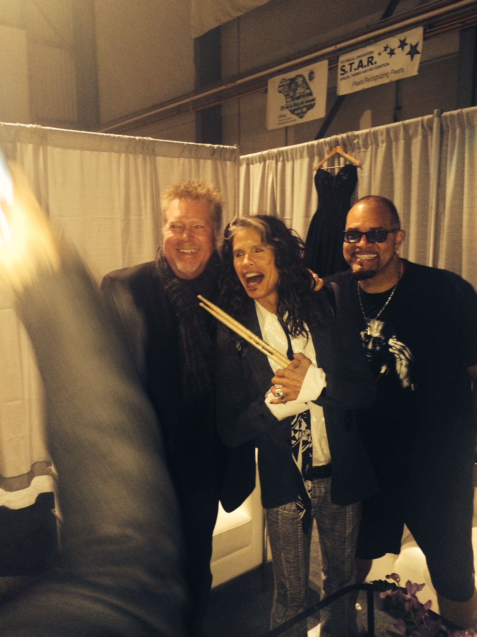 JR, Steven Tyler, & Sinbad