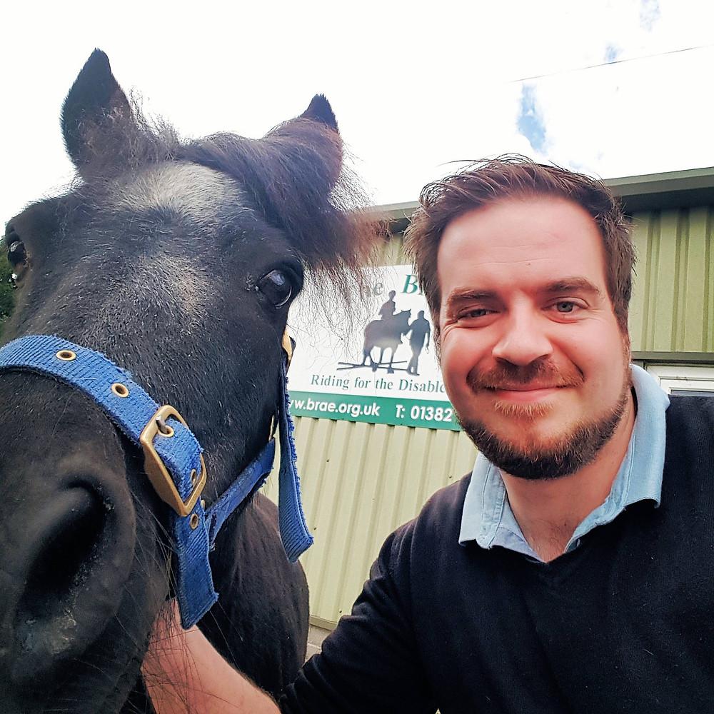 Shetland Pony Selfie!