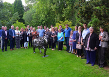 Launch Event to introduce Magnus, the Shetland Pony