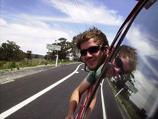 Steve Burke travelling