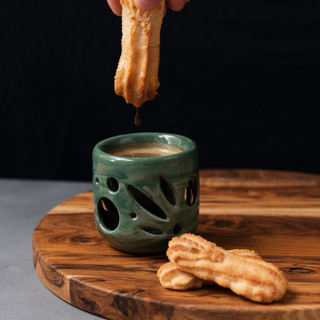 Double Wall Ceramic Espresso Mug 2oz - Botanical Series