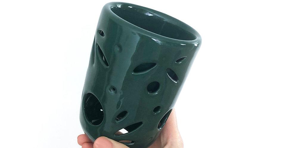 Double Wall Ceramic Mug 8oz. - Rosemary Series
