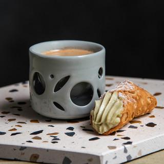 Double Wall Ceramic Mug 5oz - Sage Series
