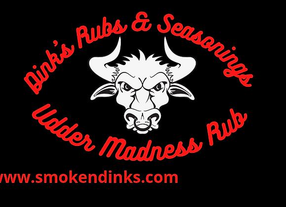 LARGE - 5 lb. Bag Dink's Udder Madness Rub