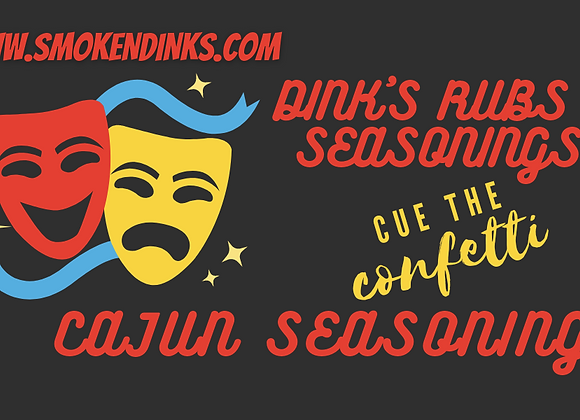 MEDIUM - 1 lb. Bag Dink's Cajun Seasoning