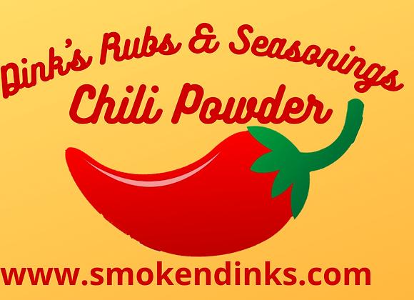 MEDIUM - 1 lb. Bag Dink's Chili Powder Seasoning