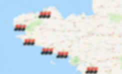 Vous pouvez voir que nous disposons d'une bonne répartition sur l'ouest. Nous restons à votre disposition au 02.98.55.68.47