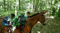 Dora and Bella on the Trails