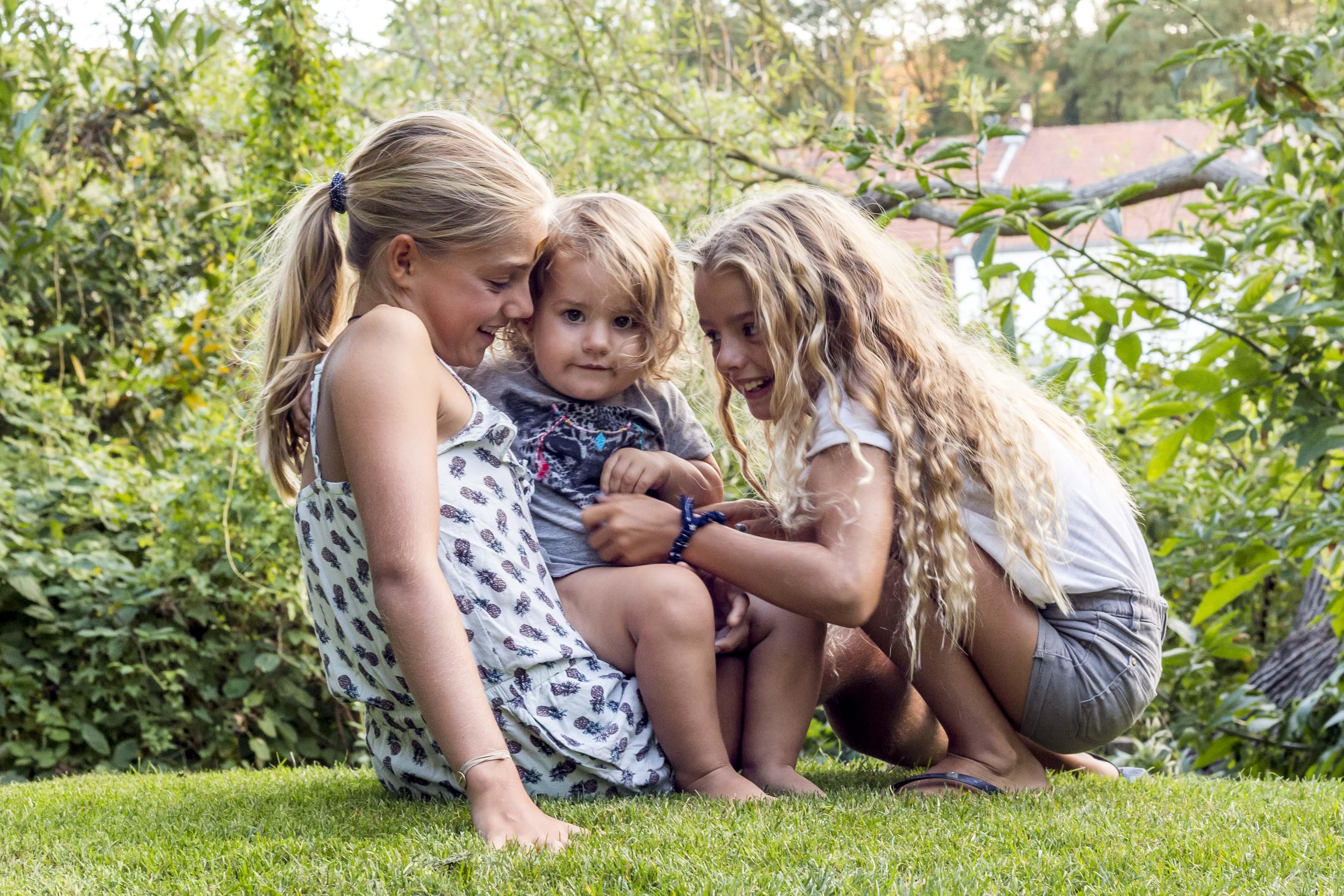 Sam, Lene en Elisa