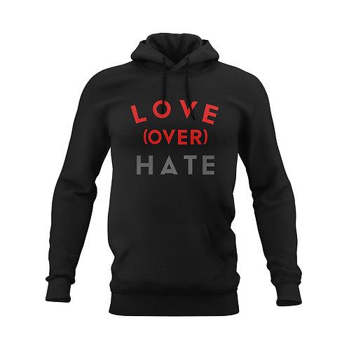 Love OVER Hate hoodie