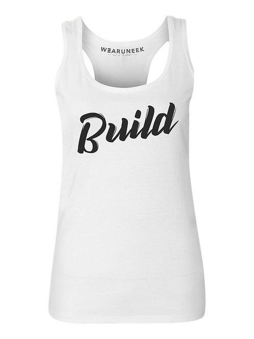 Womens BUILD Tank