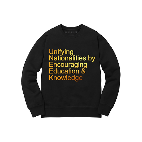 MESSAGE Sweatshirt by UneekCollection