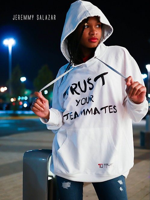 "Trust Your Teammates"" hoodie by UneekCollection"