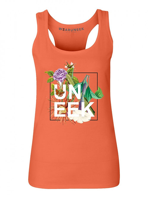 WOMENS SMELL THE ROSES TANK